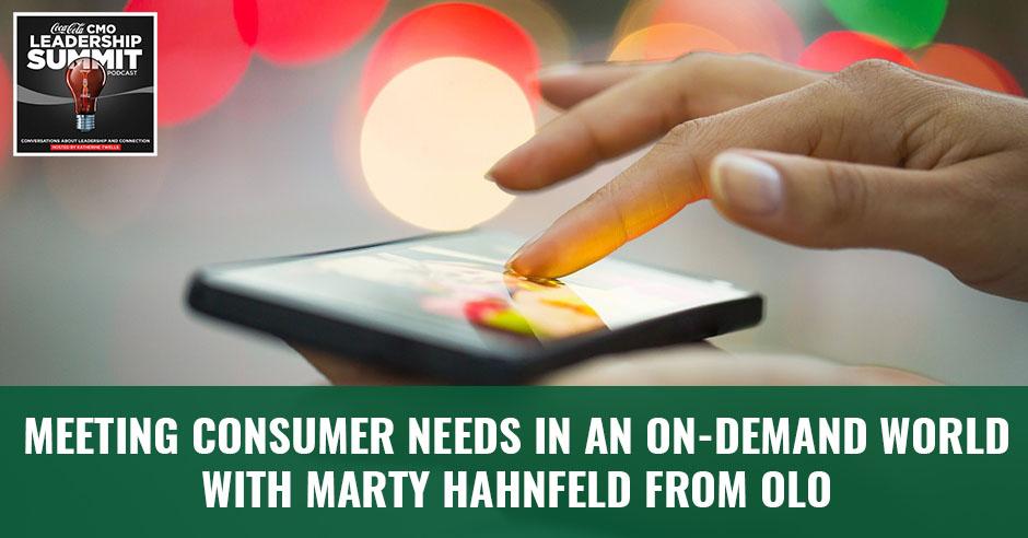 CMO 16   Consumer Needs
